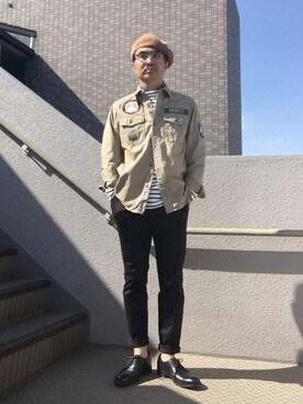 Taka@TeamFiftiesさんの(AVIREX|アヴィレックス)を使ったコーディネート