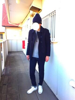 Hirokichiさんの「ユニセックス コンバース ジャックパーセル キャンバス CONVERSE JACK PURCELL 32260370(CONVERSE|コンバース)」を使ったコーディネート