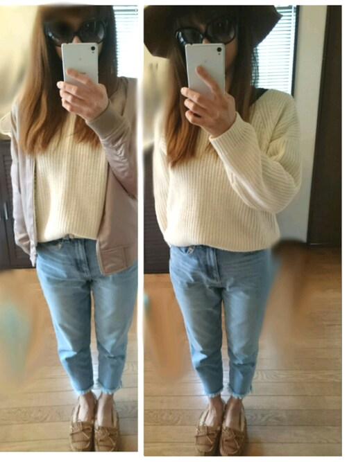 8090nnncon_mizzunnn 使用(gu)的時尚穿搭