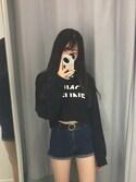 (H&M) using this らぴ looks