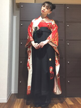 (大塚呉服店) using this るうこ looks