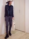 mayumiさんの「LOGOショルダーバッグ(TODAYFUL|トゥデイフル)」を使ったコーディネート
