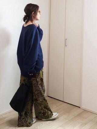 mayumiさんの「[マルコマージ]MARCO MASI KC キンチャクバッグ(green label relaxing|グリーンレーベルリラクシング)」を使ったコーディネート