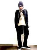 「Rick Owens Drop-Crotch Wool-Blend Trousers(Rick Owens)」 using this ★DSKDM★ looks