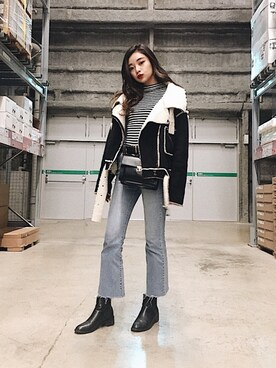 韓国ファッションコーディネート
