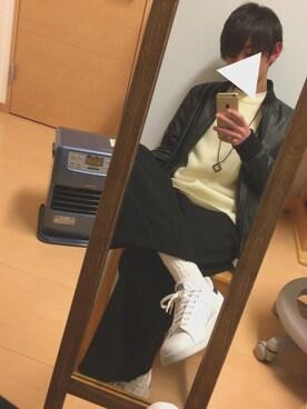 harukiさんの(adidas|アディダス)を使ったコーディネート