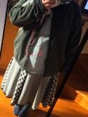 お豆腐娘さんの「レースアップロングニットプルオーバー(axes femme アクシーズファム)」を使ったコーディネート