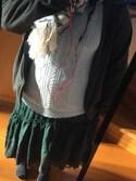 お豆腐娘さんの「フィッシュテールロングスカート(axes femme アクシーズファム)」を使ったコーディネート