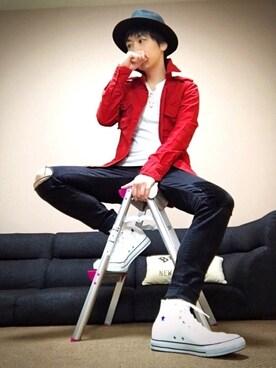 chan☆takuさんの(1PIU1UGUALE3  RELAX|ウノピゥウノウグァーレトレ リラックス)を使ったコーディネート
