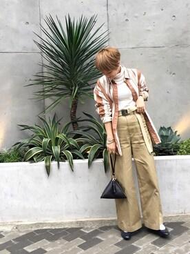 LIFE's堀江店|MIZUKI TANAKAさんの(CELINE|セリーヌ)を使ったコーディネート