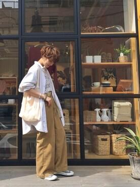 LIFE's堀江店 MIZUKI TANAKAさんの(TODAYFUL トゥデイフル)を使ったコーディネート