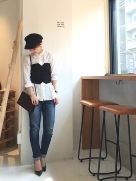 LIFE's堀江店|MIZUKI TANAKAさんの(BEAUTY&YOUTH UNITED ARROWS|ビューティアンドユースユナイテッドアローズ)を使ったコーディネート