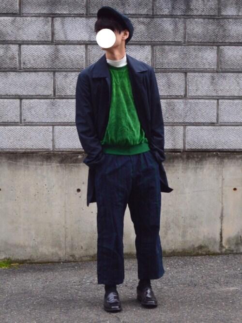 「Ck ステンカラーコート(Calvin Klein)」 using this こーじ looks