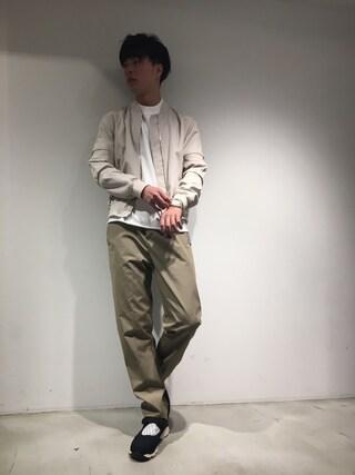 TATRAS&STRADA EST TOKYO|DAISUKEさんの(markaware|マーカウェア)を使ったコーディネート