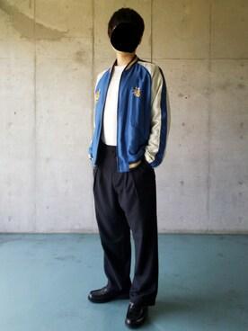 Yuukiさんの(SENSE OF PLACE by URBAN RESEARCH センス オブ プレイス バイ アーバンリサーチ)を使ったコーディネート