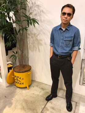 AVIREX 新宿|Danielさんの(AVIREX|アヴィレックス)を使ったコーディネート