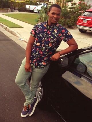 「Polo Ralph Lauren 'Vaughn' Sneaker(Polo Ralph Lauren)」 using this RK Thompson looks