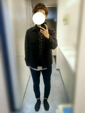 じぇいさんの「cpoジャケット(URBAN RESEARCH)」を使ったコーディネート
