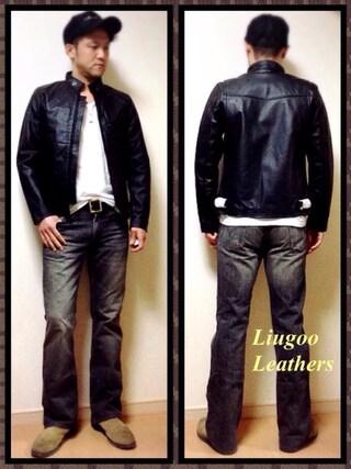 Y.N【Liugoo Leathers】さんの(Liugoo Leathers|リューグーレザーズ)を使ったコーディネート