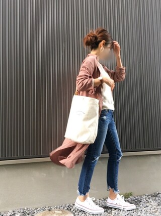 Haru☆さんの「ビックシルエットアゼプルオーバー◆(Spick & Span|スピック&スパン)」を使ったコーディネート
