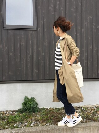 「【adidas】 SUPERSTAR 80S◆(Spick & Span)」 using this Haru☆ looks