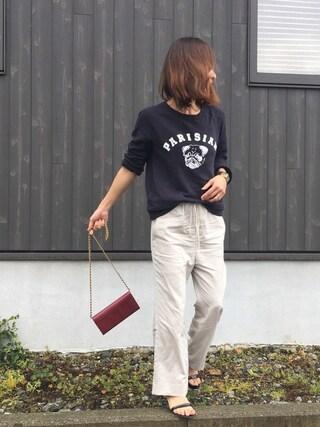 Haru☆さんの「【a.v.max】スクエアバングルチュウ◆(Spick & Span|スピック&スパン)」を使ったコーディネート