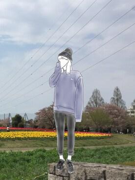 akidesさんの(ユニクロ|ユニクロ)を使ったコーディネート