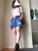 「STブレードHAT(AZUL by moussy)」 using this RRRumi looks