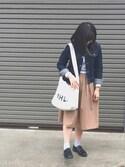 haruka☆さんの「HARUTA ハルタ ウィメンズプレーントゥ SF370(HARUTA|HARUTA)」を使ったコーディネート
