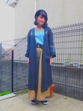Serika Nagataさんの「VANS ヴァンズ OLD SKOOL LITE + オールドスクール ライト+ VN0004O6IJU (SUE/CVS)BLACK/WHITE(VANS|バンズ)」を使ったコーディネート