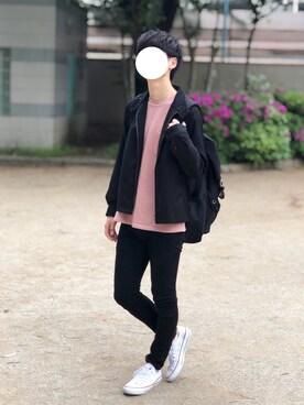 Kさんの「TRハリントンジャケット(JUNRed|ジュンレッド)」を使ったコーディネート