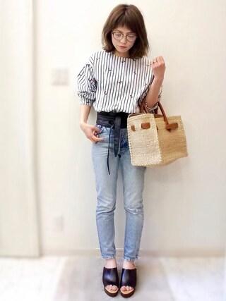 「cherry blouse(OKDGG)」 using this maamin♡ looks
