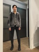 「GAULT JACKET(ALLSAINTS)」 using this Jimmy looks