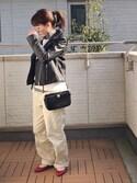 Kay-teeeさんの「50S モデル チノパン◆(IENA|イエナ)」を使ったコーディネート