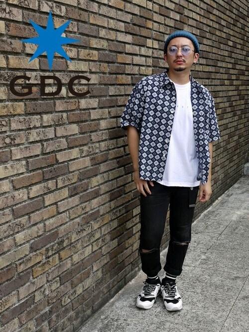 GDCTOKYO-MAH-bow-さんの「KOMON HS SHIRT(GDC)」を使ったコーディネート