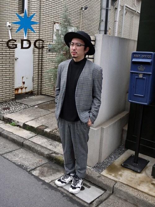 GDCTOKYO-MAH-bow-さんの「WIDE BOATER(GDC)」を使ったコーディネート