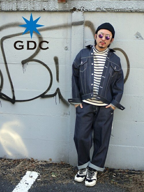 GDCTOKYO-MAH-bow-さんの「【CA4LAxGDC】KNIT WATCH CAP(GDC)」を使ったコーディネート