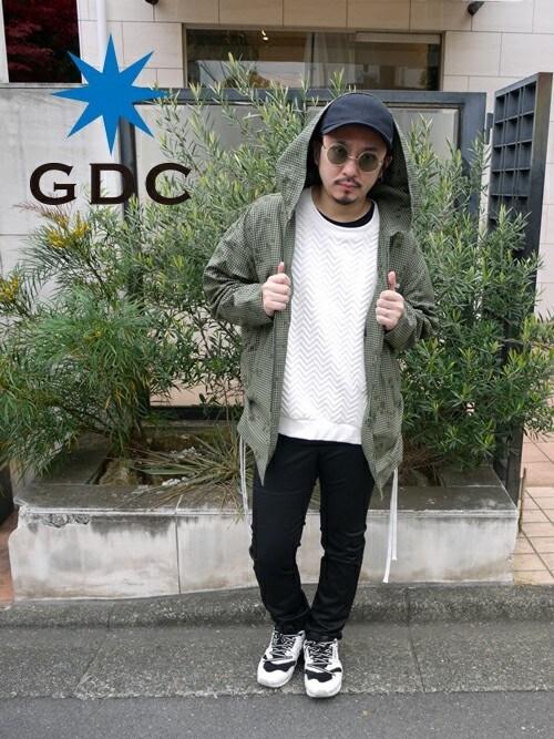 GDCTOKYO-MAH-bow-さんの「【CA4LAxGDC】PANEL CAP-A(GDC)」を使ったコーディネート