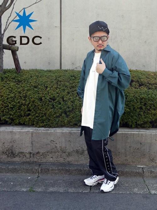 GDCTOKYO-MAH-bow-さんの「【CA4LAxGDCコラボ】TUCK B.B CAP-B(GDC)」を使ったコーディネート