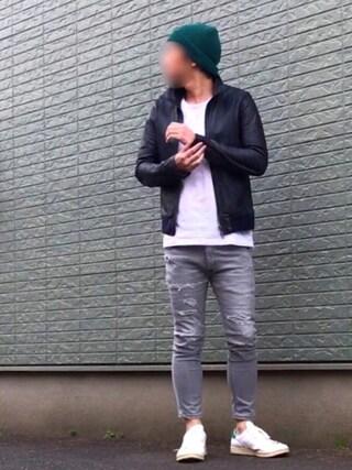 「Lee/別注COOLMAXCrashCropped(Lee)」 using this nobu looks