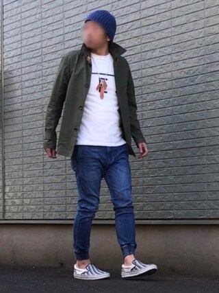 「TES COMFORTABLE PILE LOCAL TES TEE(The Endless Summer)」 using this nobu looks