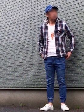 """のぶ is wearing CONVERSE """"CONVERSE×JS NET STAR/別注 コンバース ネットスター#"""""""