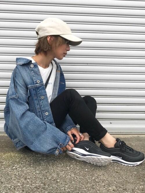 Kumika☆さんのデニムジャケット「カフストラップデニムジャケット(TODAYFUL|トゥデイフル)」を使ったコーディネート