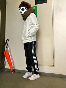 永瀬さんの(adidas originals|アディダスオリジナルス)を使ったコーディネート