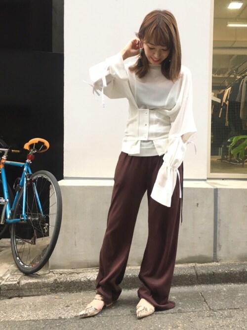 kurosu    yuiさんの(AKIRA NAKA)を使ったコーディネート