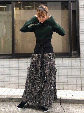 MIDWEST TOKYO WOMEN|kurosu    yuiさんの(muller of yoshiokubo)を使ったコーディネート