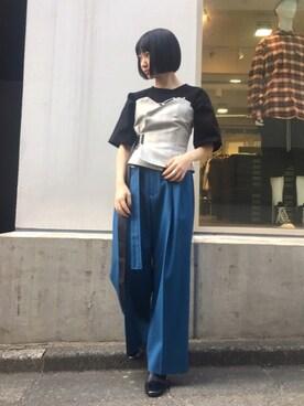 MIDWEST TOKYO WOMEN|kurosu    yuiさんの(RITO)を使ったコーディネート