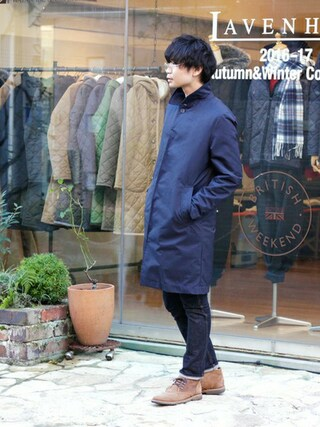 「EASTBRIDGE/イーストブリッジ(LAVENHAM)」 using this BRITISH MADE オンラインショップ|TomokiMatsui looks