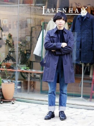 「【ジョセフ チーニー/JOSEPH CHEANEY】メンズ CAIRNGORM 2R(ケンゴン 2R)(JOSEPH CHEANEY&SONS)」 using this BRITISH MADE オンラインショップ|TomokiMatsui looks