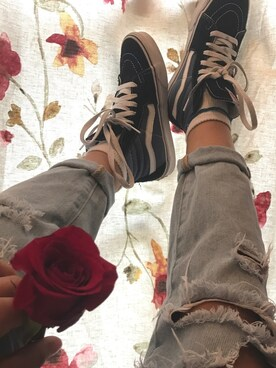 (Vans) using this jasmine looks
